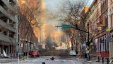 Explosión en el centro de Nashville, EE.UU., pone en alerta a la Policía