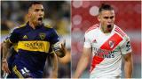 Boca y River juegan el superclásico con la mente en la Libertadores