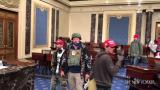 Impresionante video inédito de la toma al Capitolio en Washington