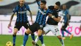 Lautaro Martínez no pudo romper el cero en el arco del Udinese.
