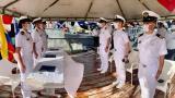 Por primera vez, una mujer asume mando de buque ARC 'Ciénaga de Mallorquín'