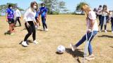 Piojó tendrá una cancha para fútbol femenino