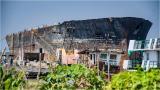 Al astillero: último viaje del B Atlantic, el buque encallado en el Malecón