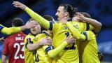 Suecia gana en el regreso de Ibrahimovic