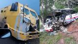 Accidente en el sur de Córdoba: un muerto y al menos 10 heridos