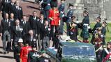 Los príncipes Guillermo y Enrique se reencontraron en el funeral del duque de Edimburgo