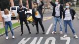 Artistas protestaron en contra de la reforma tributaria