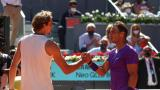 Zverev eliminó a Nadal en cuartos de final del torneo de Madrid