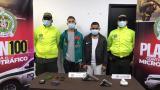 Policía captura a dos 'Papalópez' en Santa María
