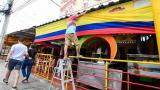 La Ciudadela se alista para el partido Colombia-Argentina