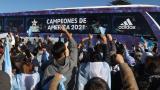 Argentina regresó a su país luego de conseguir un 'Maracanazo'