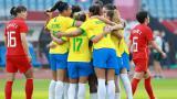 Brasil goleó en su debut en los Juegos Olímpicos de Tokio
