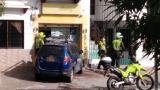 Mujer resulta herida tras intento de atraco de falsos vigilantes en un Efecty