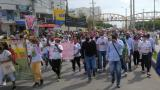 Realizan protestas en contra del alcalde William Dau en Cartagena