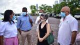 Definen plan de acción para remover obras en las murallas de Cartagena