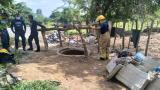 Joven muere ahogado por gases de un pozo artesanal en Baranoa