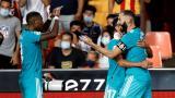 Real Madrid remontó ante Valencia y es el líder de la Liga de España