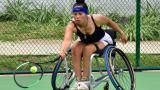 El tenis puso su vida a marchar sobre ruedas