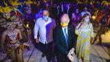 Un Carnaval le dio la bienvenida a Infantino