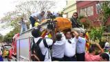 Imágenes: Barranquilla despide al