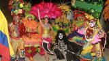 Secretaría de Cultura y reina del Carnaval presentan revista folclórica en el Foromic
