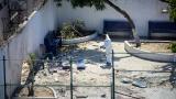 Estas son las imágenes que dejó el atentado a la estación San José en 2018