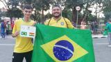 Los aficionados de Brasil y Bolivia dan su marcador previo al primer partido de la Copa América