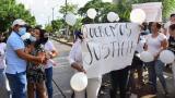 Plantón de rechazo tras muerte de mecánico en procedimiento policial