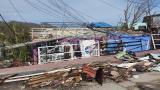 Los destrozos que deja Iota en San Andrés y Providencia
