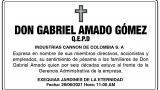 Gabriel Amado Gómez