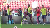 Colombia reza por James, Inglaterra pone a prueba su favoritismo
