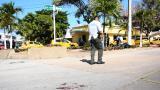 En video | Momento en que es auxiliado hombre baleado en el norte