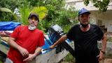 En video | Relato de pescadores que rescataron a mujer en el mar de Puerto