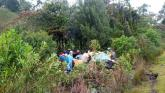 Cinco muertos y tres heridos en accidente en Rionegro