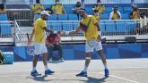 Cabal y Farah pasan a segunda ronda de dobles en los Juegos de Tokio