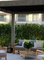Las terrazas y las zonas comunes son escenarios perfectos para adoptar el estilo propio de lo natural.