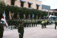 Aspecto de un evento de la Policía realizado en Sabanalarga.