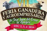 Afiche de la Feria de San Juan del Cesar.