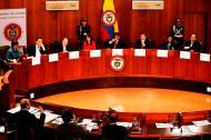 La Corte Constitucional en pleno.
