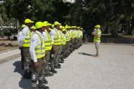 Estos son algunos de los orientadores de movilidad que ya están en servicio en Barranquilla.