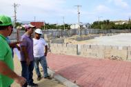 Recorrido del alcalde por el parque Los Sueños, en Barranquilla.