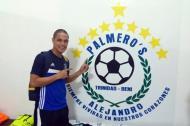 El barranquillero José Quiroz cuando militaba en el equipo Palmero's, de Bolivia.
