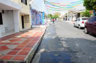 Sector del barrio San Felipe donde ocurrió el ataque.