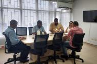 Desarrollo de la reunión de conciliación entre Electricaribe y Alcaldía de Riohacha.