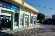 Estación de Gas donde ocurrió el hecho, a las 7 de la mañana.