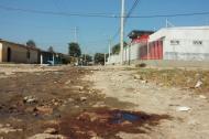 Carrera 6 con calle 21 del barrio La Luz, donde fue encontrado el cuerpo.