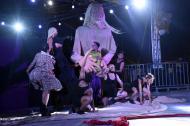 En el primer día de la Carnavalada, 'Suicidio 22' fue la encargada de abrir la jornada.