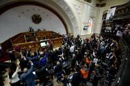 Aspecto del Parlamento venezolano.