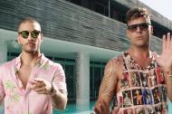 Maluma y Ricky Martin en el video de la canción 'Vente Pa' Acá'.