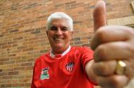 Julio Avelino Comesaña asume con optimismo este nuevo ciclo, el séptimo, como entrenador del Junior.